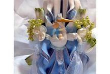 Velas para Bautizo / Velas decoradas para Bautizo. Todas nuestras velas son creadas totalmente a mano, partiendo de una mecha y bañandolas hata 30 veces para obtener una terminación inmejorable, después son decoradas a mano. http://www.apisanz.com/78-velas-boda-bautizo-comunion