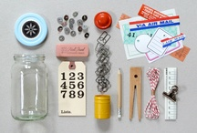 stationeries & sets / by Wanqi Yeo