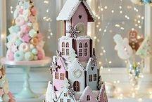cake at christmas