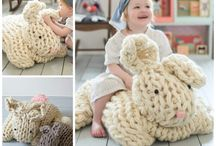 Giant yarn projects