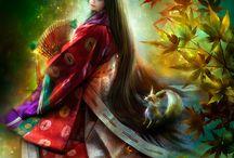 Japanese, Chinese Arts