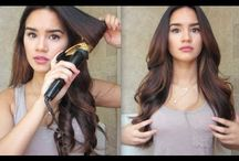 curling hair tutorial
