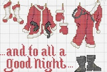 X-Stitch: Christmas / by Amy Maciel