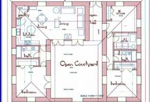 u shapped house plans