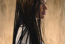 Art on wood panels / Art on rough or smooth wood panels