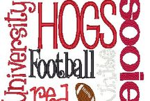 Go Hogs Go!!.....and when I learn to paint, I'm gonna!!