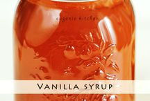 Coffee syrup, creamer recipes