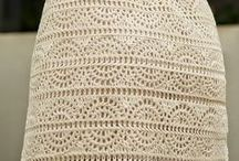 crochet faldas