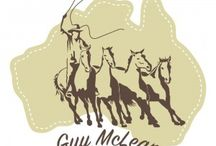 Guy McLean Horsemanship / The unique style of horsemanship that Guy McLean has with horses.  His bush poetry is also outstanding and very Australian.  Guy is very proud to be an Australian.