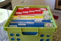 Saving School Work / Organize and preserve special school memories from your ancestors or descendants.
