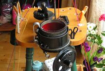 Knitting machines / All types of industrial knitting machines.  Hand flat, Power Flat, Fully Fashioned and Circular.