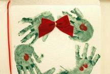 toddler fingerpaint christmas crafts