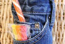 Jeans verschönern