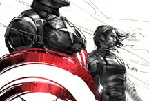 Marvel Comic Sketches