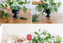 floral ideas for engagment party