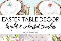 Easter: Decorations, recepis etc