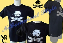 T-SHIRT MAGLIETTA NoComment Style stampa Argento