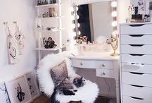 Desk / How to design your desk with makeup?