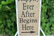wedding sign's