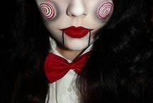 maquiagem halloween infantil