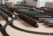 Material Ibertren / Fotos de grupo de mis vagones y locomotoras