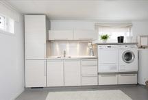 Vaskerom / Planlegging husbygging