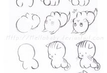 Cute easy drawings