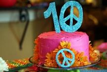 PEACE, LOVE & PARTY ideas / by Kristi Dabbert