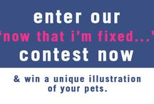 Enter our *CONTEST* / Enter by Tuesday, August 27, and you could win a digital illustration of your pets from artist Cameo Anderson, valued at $100. Visit the link below for all the contest rules! http://www.whentospay.org/get-the-story/27-get-the-story/blog/42-fixed-contest
