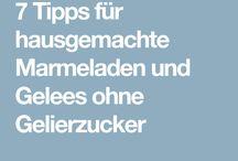 Marmelade tips