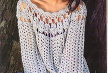 crochet adult  tops, warm weather boleros/ponchos / by Joy Allen
