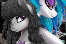 Octavia and Vinyl Scratch ♬♪♫