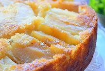 Dessert / Gâteau yaourt aux pommes