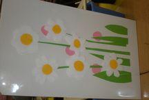 Předškolní činnosti - výtvarná výchova / Výtvarná výchova