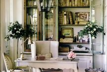 HOME OFFICE / Great ability develops & reveals itself increasingly with every new assignment. / by Tina Walker