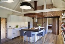 Case Study - Beautiful Barn Conversion with bulthaup b1 / hobsons|choice designed and fitted a bulthaup b1 kitchen in a beautiful, characterful barn conversion.  #kitchens #cooking #design