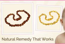 Amber for Babies / Natural Teething Remedies with Amber Jewelry for Babies