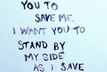 My tinnie little words...