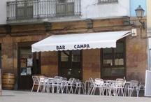 Bar Campa / Bar Campa situado en el Oviedo Antiguo www.barcampa.com