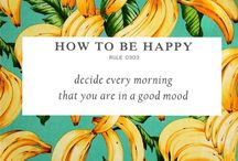 how to be happy rules