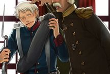APH: Prussia / Historical Hetalia - Prussian Kingdom - modern, silly and historical.