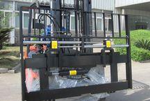 Đầy đủ Bộ công tác xe nâng hàng - Bộ công tác Xe nâng heli / Xe nâng heli với nhiều bộ công tác khác nhau để phù hợp với từng công việc cụ thể. Bộ công tác kẹp, xoay, gật gù, dịch càng,......