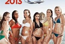 Ryanair Calendar 2013 / All hostess photos @ http://www.ilturista.info/ugc/foto_viaggi_vacanze/603-Calendario_Ryanair_le_foto_delle_sexy_hostess_mese_per_mese/