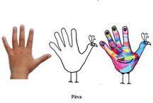 Hoe teken je hand