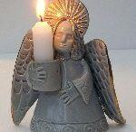 Angel pottery