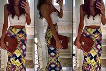 Long. Skirt