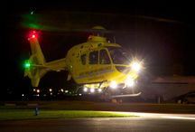 Night flying / Images of East Anglian Air Ambulance at night.