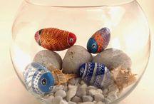 Ideas Diy con Piedras / Ideas de decoracion Diy que tu misma puedes realizar con tan solo unas piedras y mucha creatividad