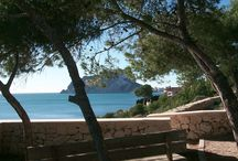 View to Calpe rock