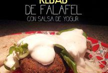 Kebabs de Falafel.